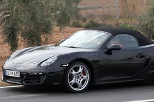 2012 Porsche Boxster Spied