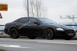 Spied: Maseratis New Sports Saloon