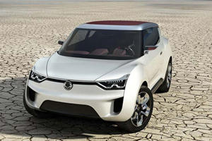 SsangYong Reveals XIV-2 Concept, New Korando SUV and Actyon Sports