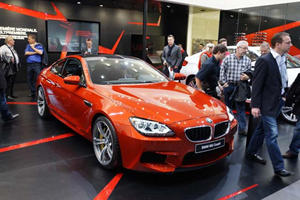 2013 BMW M6 Rolled Out at Geneva