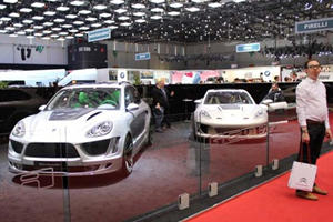 Gemballa Gets Baller Status at the Geneva Auto Show with MegaGallery