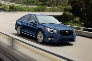 2017 Subaru Legacy Review