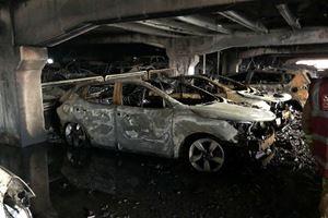 1,400 Cars Perish In Massive Parking Garage Fire