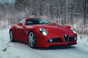 The Alfa Romeo 8C Competizione Is A Work Of Automotive Art
