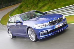 Alpina Reveals World's Fastest Station Wagon With 200 MPH Top Speed
