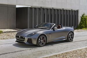 Jaguar F-Type SVR Convertible