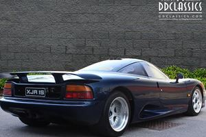 This Rare Jaguar XJR-15 Is One Of Only 53 In The World ...