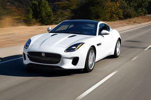 2018 Jaguar F-Type Coupe Review