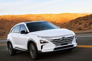 Hyundai Nexo Fuel Cell SUV Revealed With Tesla-Beating Range