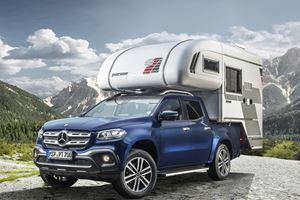 Mercedes-Benz X-Class Truck Transformed Into Camper Van