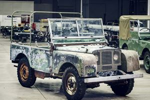 1948 Land Rover 4x4 Discovered 63 Years After It Disappeared