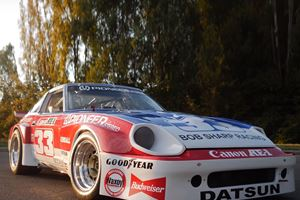 This Track-Only Datsun 280ZX Once Belonged To Paul Newman