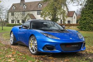 New Lotus Evora GT410 Is Lighter And More Powerful Than Ever
