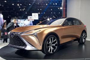 Lexus Shows Off The LF-1 Limitless Concept At Detroit