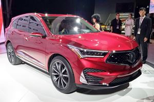 2019 Acura RDX Prototype Drops In Detroit With A Pretty New Face