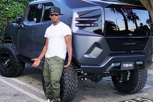 Jamie Foxx Just Bought The Extreme Rezvani Tank SUV