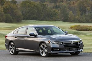 Honda Accord Crowned America's Car Of The Year