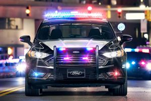 Ford Wants Driverless Police Cars To Patrol The Streets In The Future
