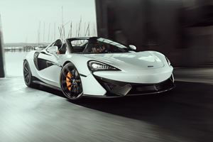 McLaren 570S Spider Upgraded With Supercar Performance