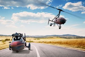 World's First Production Flying Car Landing In Geneva Next Month
