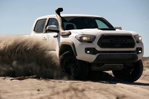 2019 Toyota Tacoma TRD Pro Gets Snorkel So It Doesn't Choke on Sand