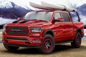 2019 Ram 1500 Shows Up In Chicago With Mopar Goodies