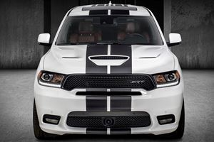 Dodge Durango SRT Spiced Up With Mopar Performance Parts