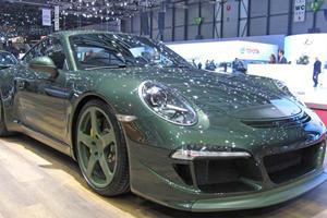 RUF Rocks Geneva with Four New Porsches