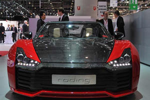 Ridiculously Cool Roadsters Arrive in Geneva by Roding and Artega