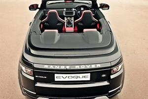 Range Rover Evoque CrossCab Takes a Stroll Through London