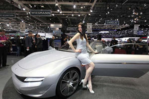 The Girls from the 2012 Geneva Show