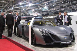 Making the Ferrari Enzo Look Bland: Marussia B2 Displayed at Geneva