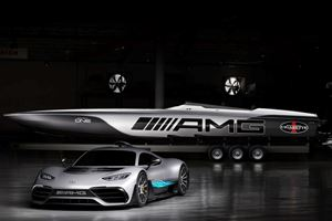 The Mercedes Project One Inspired This Insane 3,100 HP Powerboat