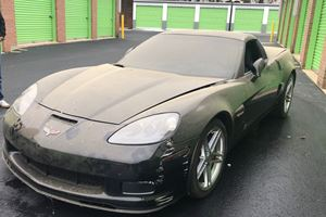 This 700-Mile C6 Corvette Z06 Was Left Abandoned In A Storage Unit