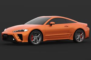Too Bad This 2020 Mitsubishi Eclipse Rendering Is Only A Rendering