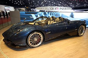 Of Course The Pagani Huayra Roadster's Soft Stop Is A Work Of Art