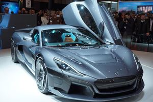 1,914-HP Rimac C_Two Is Ready For An Autonomous Future