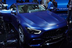 Mercedes Finally Reveals AMG GT 4-Door Coupé