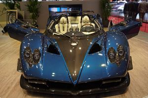 Pagani Zonda Barchetta Ownership Being Determined By Two Highest Bids