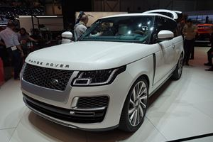 JLR SVO Has Brought A Very Special Range Rover SV Coupe To Geneva