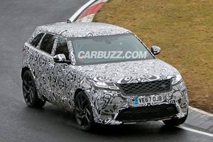 Range Rover Velar SVR Spied Being Put Through Its Paces At The Ring