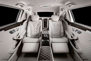 Introducing The Most Luxurious S-Class Yet: The S650 Maybach Pullman