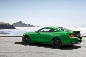 Ford Attempts To Return Snakes To Ireland With Green Mustang For St. Paddy's