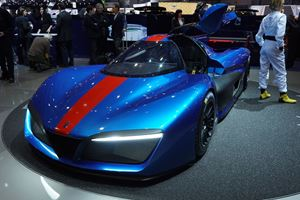 Pininfarina To Unleash Electric Bugatti Chiron Fighter