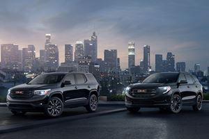 GMC Acadia And Terrain Black Editions Headed For NY Auto Show