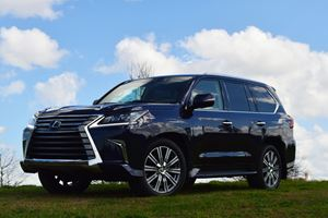 2017 Lexus LX 570 Review: The Click-Wheel iPod Of SUVs