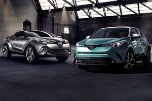 From Concept To Production: 2018 Toyota C-HR