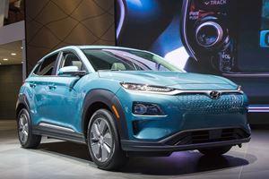 Hyundai Drops U.S. Details On 2019 Kona Electric In New York