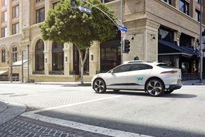 Waymo And Jaguar Announce Self-Driving Partnership