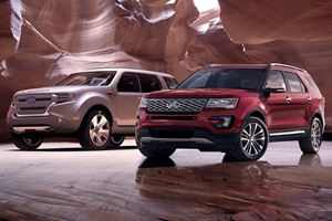 From Concept To Production: 2018 Ford Explorer